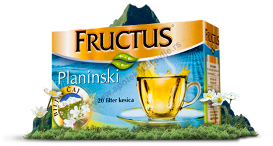 Picture of FRUCTUS PLANINSKI filter 20g