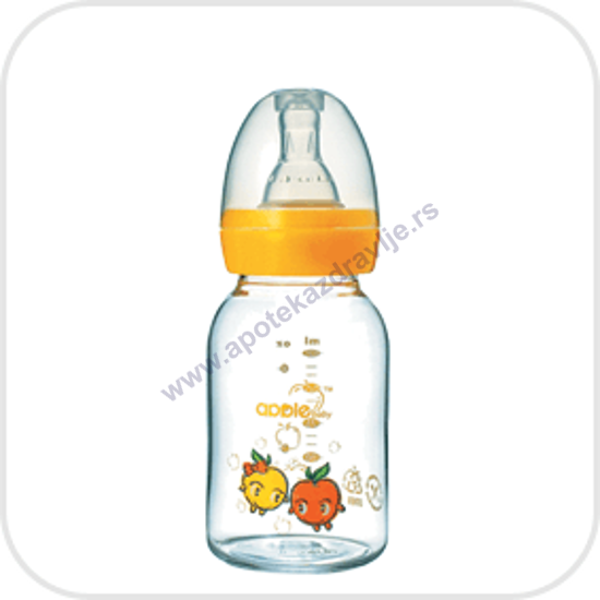 Imagine APPLE FLAŠICA STAKLENA 125ml 03A02