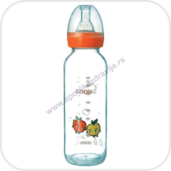 Picture of APPLE FLAŠICA STAKLENA 250ml 03A01