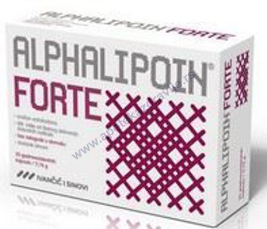 Picture of ALPHALIPOIN FORTE caps. 30x300mg